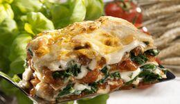 Foto Spinat-Lasagne