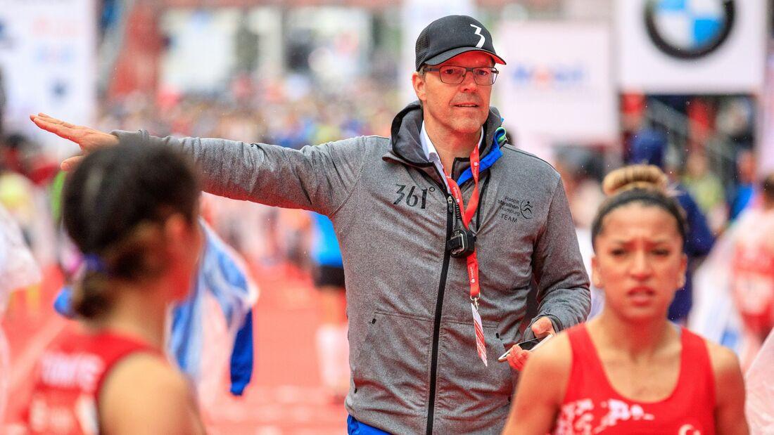 Frank Thaleiser, Organisator des Hamburg-Marathons