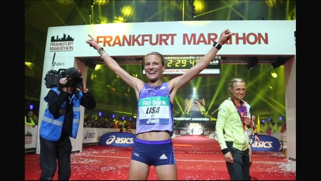 Frankfurt-Marathon 2015 Lisa Hahner