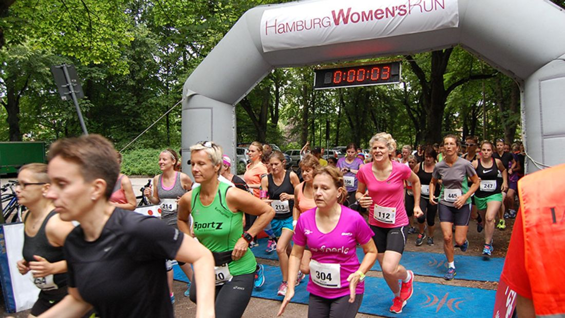 Frauenlauf Hamburg 2015