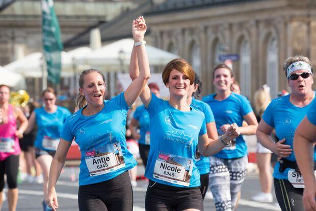 Frauenlauf in Dresden