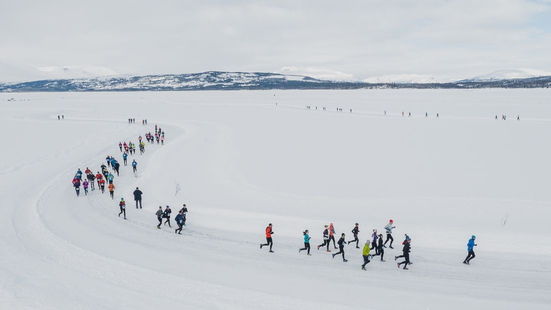 Frozen Lake Marathon