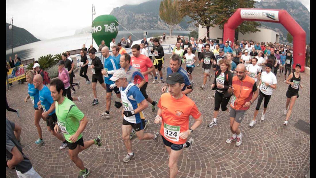 Gardasee-Marathon 2014 Start