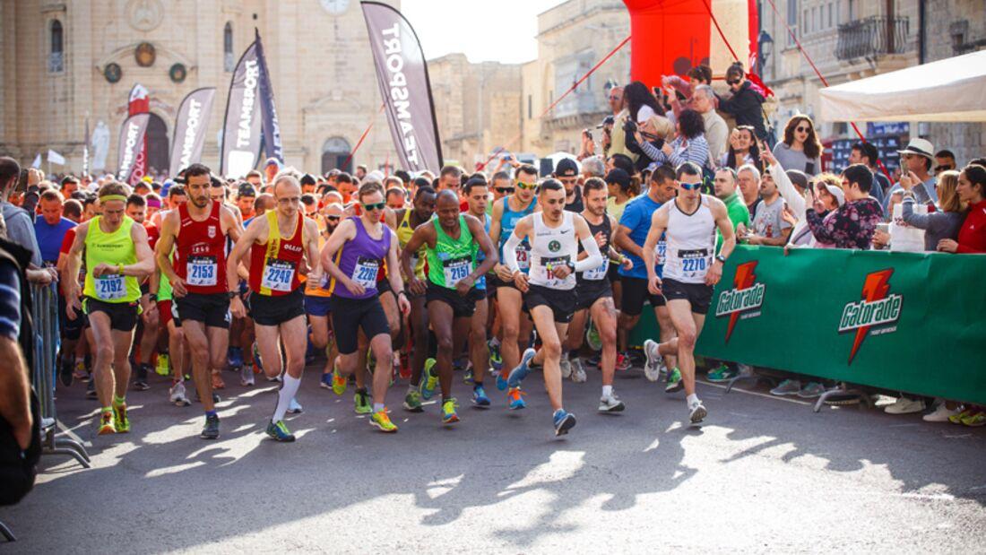 Gozo Halbmarathon