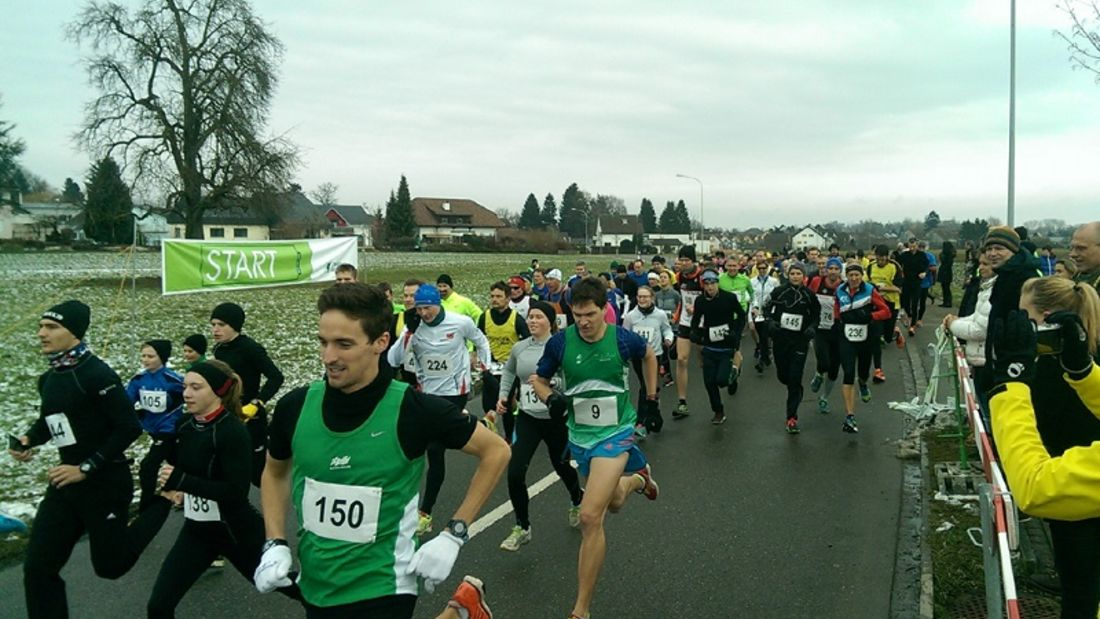 Grenzlauf Slamsach: Die Läufer des 11,2-km-Hauptlaufs