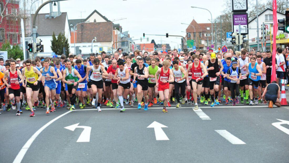 Griesheimer Straßenlauf Start 2013