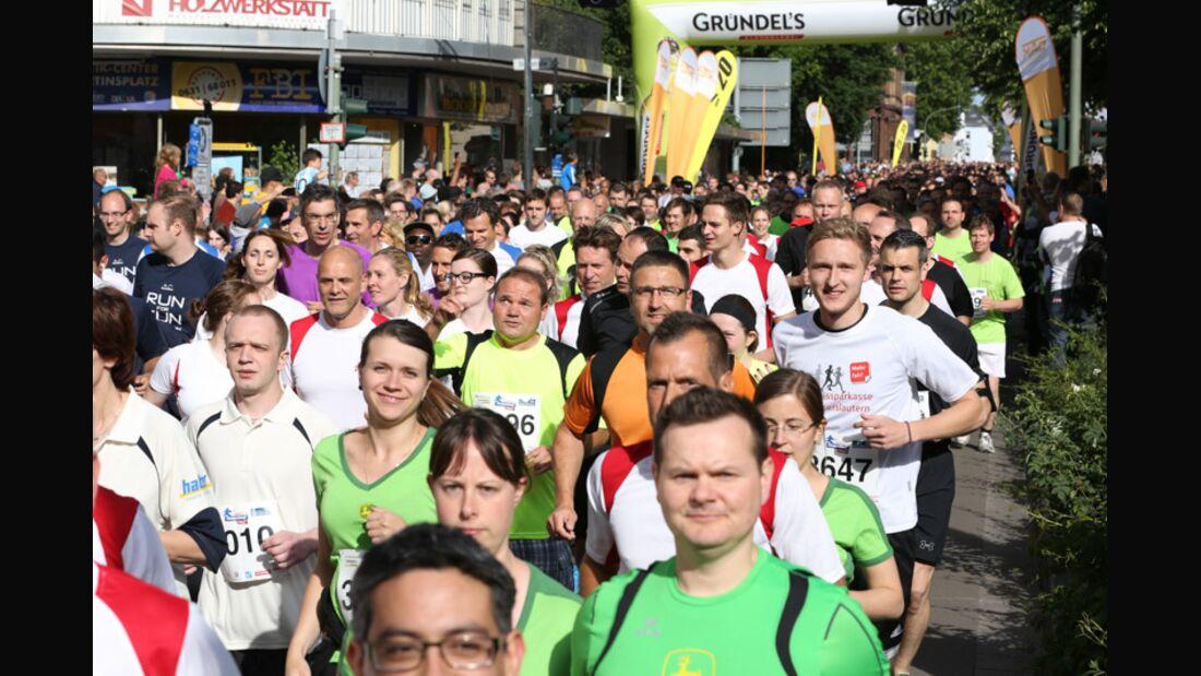 Gründel's fresh Firmenlauf Pfalz 2014