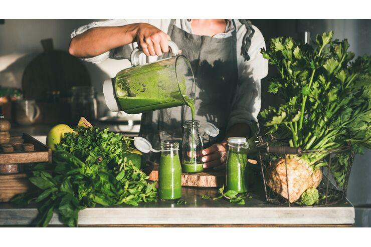 Karotten-Smoothie zur Gewichtsreduktion