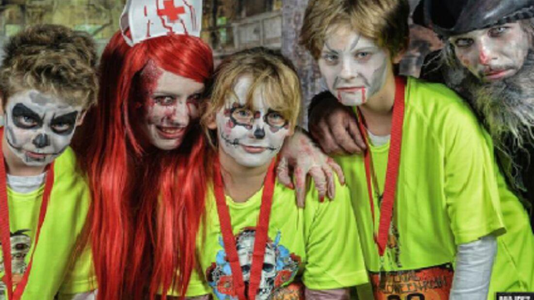 Gruselige Verkleidungen beim Berliner Halloween Run