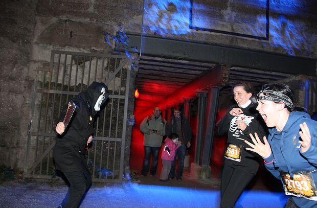 Gruselspaß beim Halloween Run in Berlin
