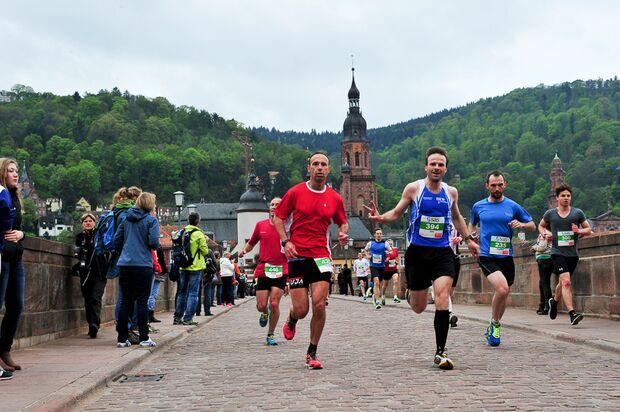 Halbmarathon Heidelberg 2015