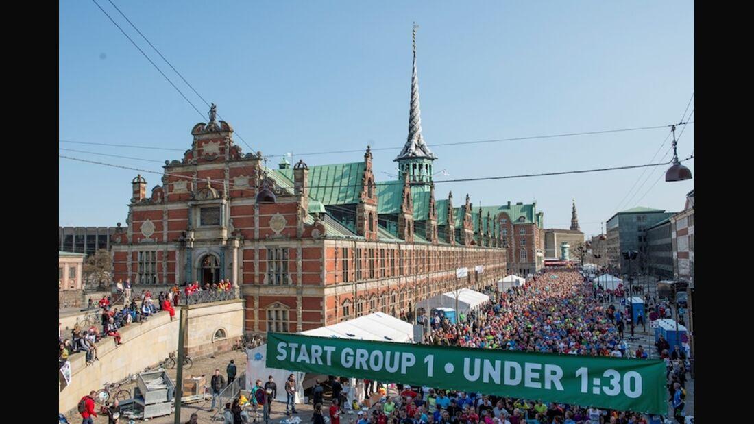Halbmarathon Kopenhagen 2014