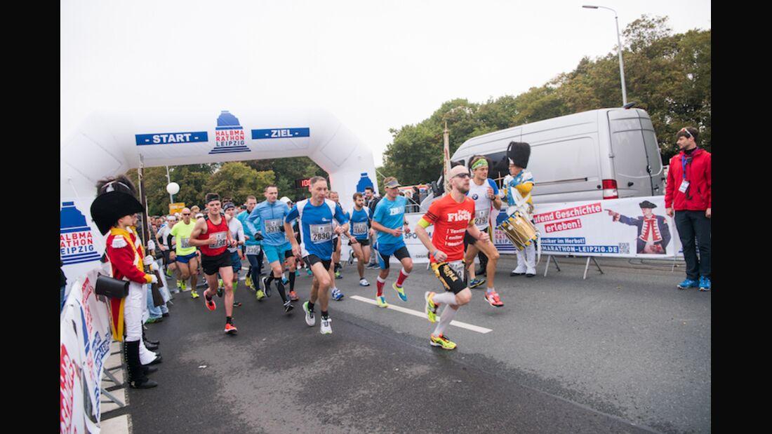 Halbmarathon Leipzig 2017 Start