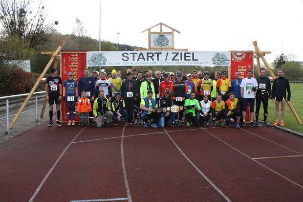 Harter Mann Extremlauf Niederstetten: Kurz vor dem Start