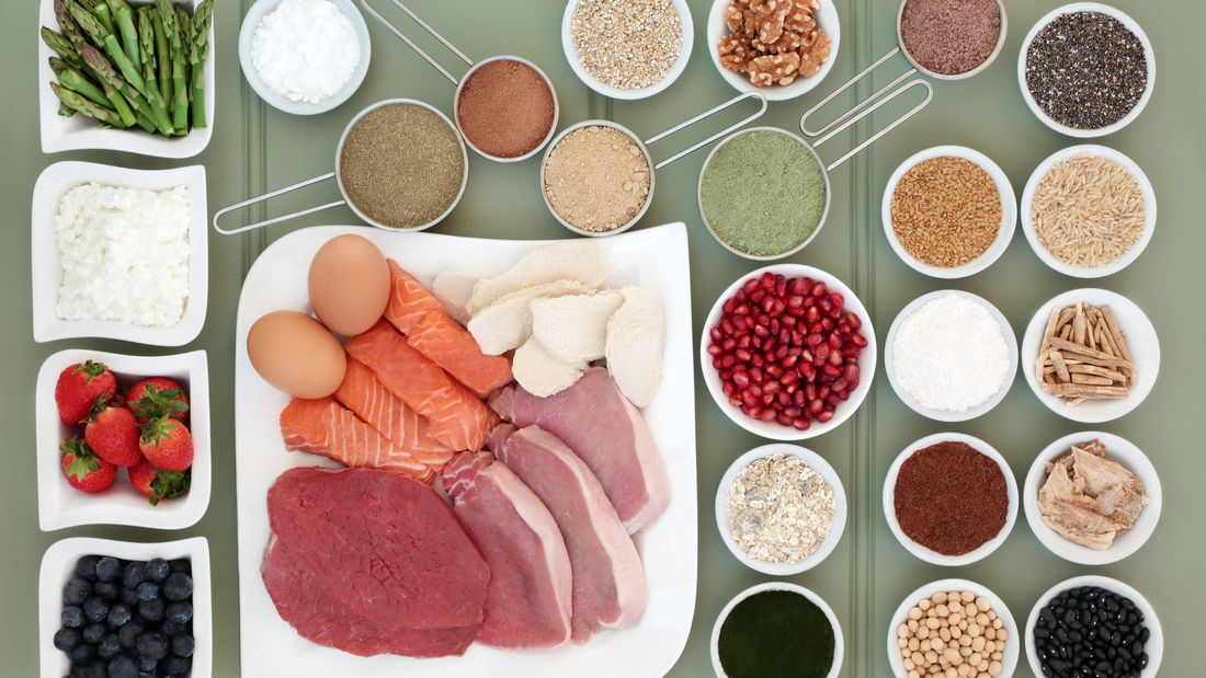 Healthy Food for Body Builders