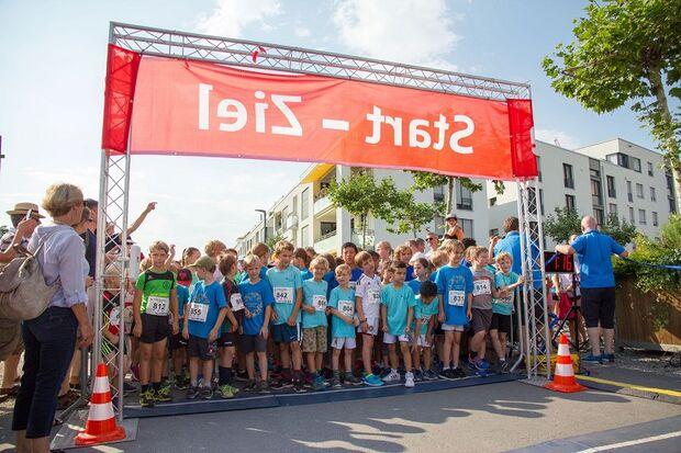 Heidelberger Bahnstadtlauf: Start der Kinder