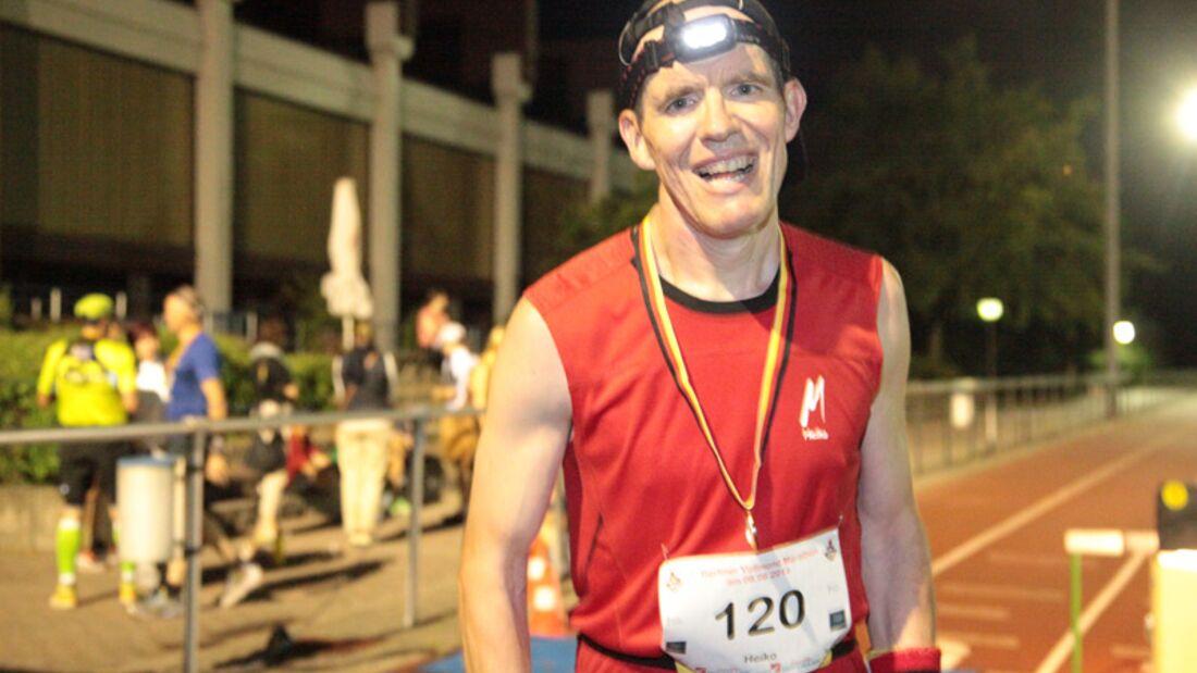 Heiko Rammenstein beim Vollmond-Marathon Berlin