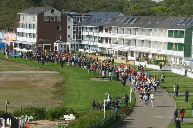 Helgoland-Marathon Start 2012
