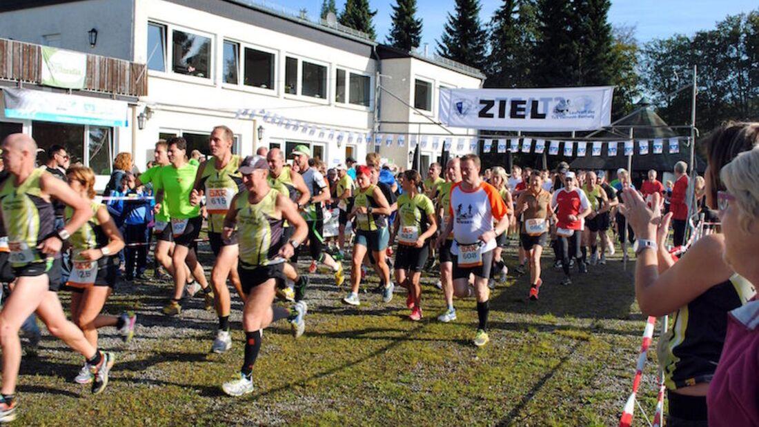 Hochsauerland-Waldmarathon Start 2018
