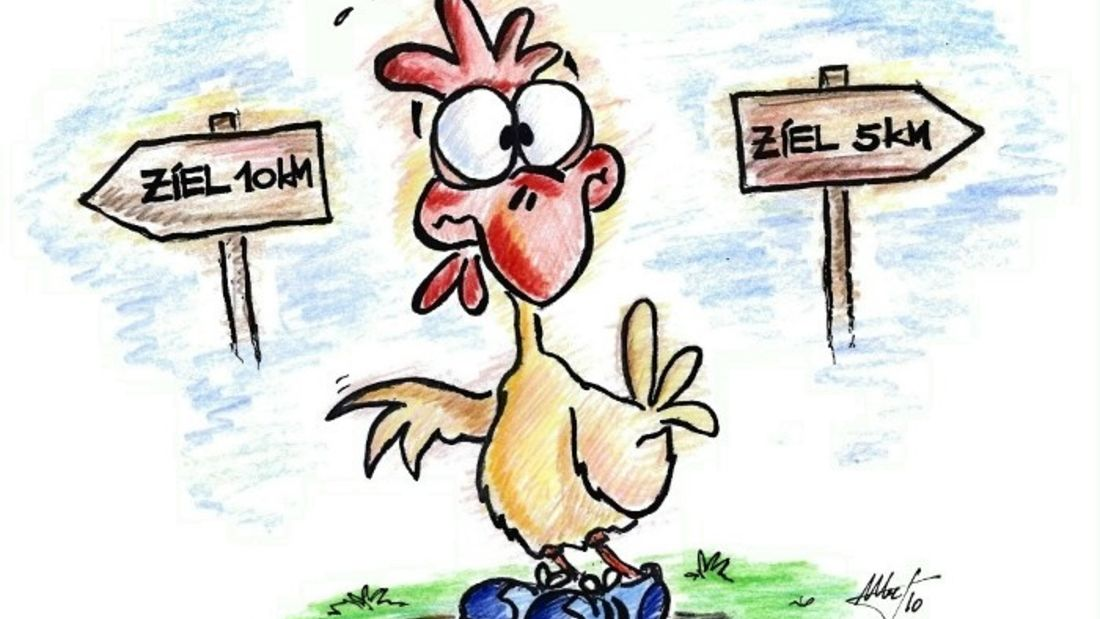 Hühnerbrückenlauf Herzhorn: Auf zur Hühnerbrücke!