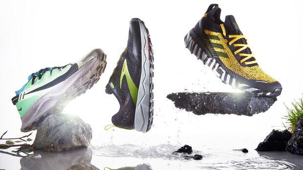 Hybrid-Trailschuhe, Nike, Brooks, Adidas