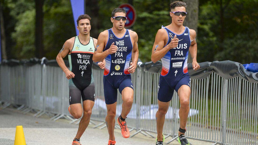 ITU World Triathlon Elite Men; Hamburg, 05.09.20