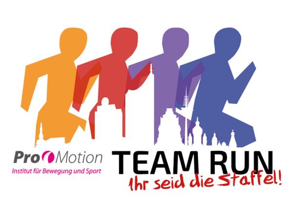 Ihr seid die Staffel! ist das Motto des Leipziger Team Run.