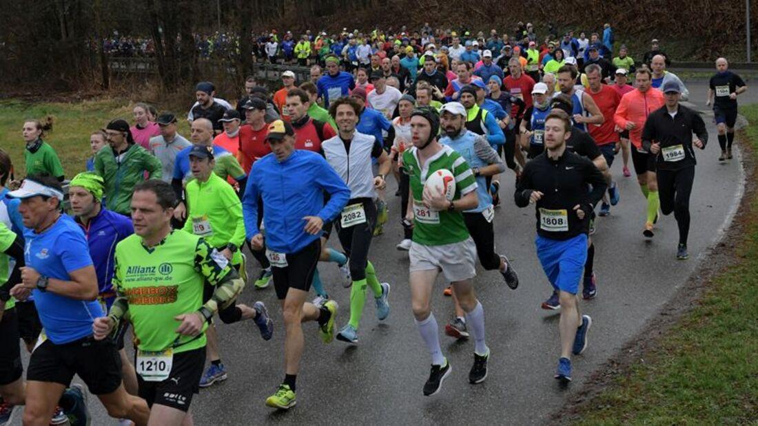 Impressionen vom Bienwald-Marathon Kandel 2019
