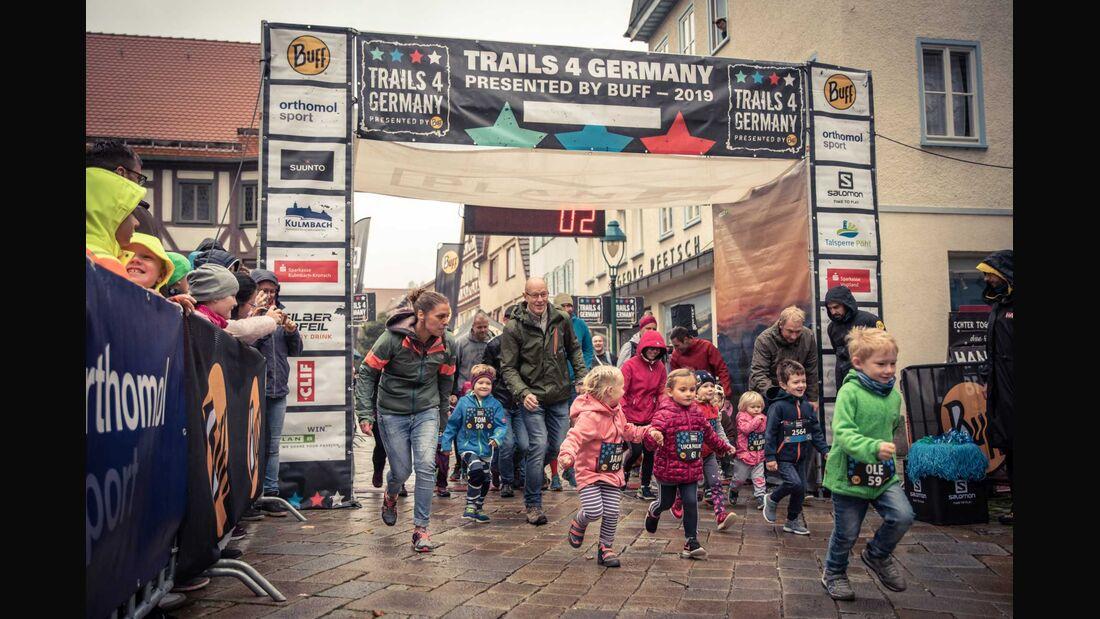 Impressionen vom Trails 4 Germany Blaubeuren