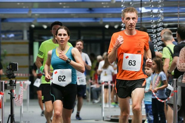 Indoor-Marathon Nürnberg 2015