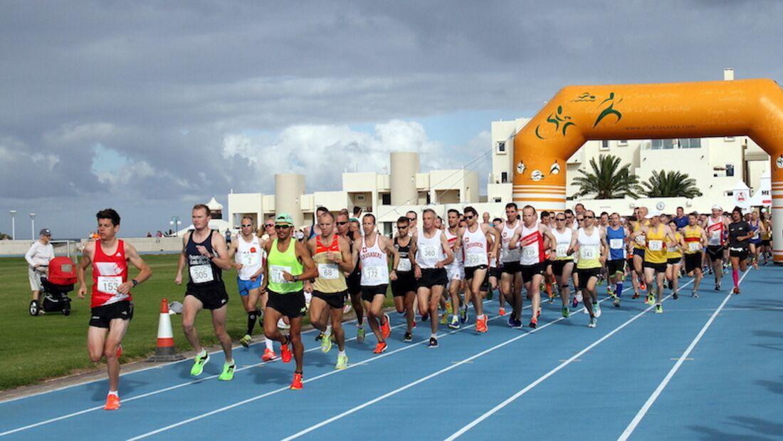 International Running Challenge Lanzarote Start 2018