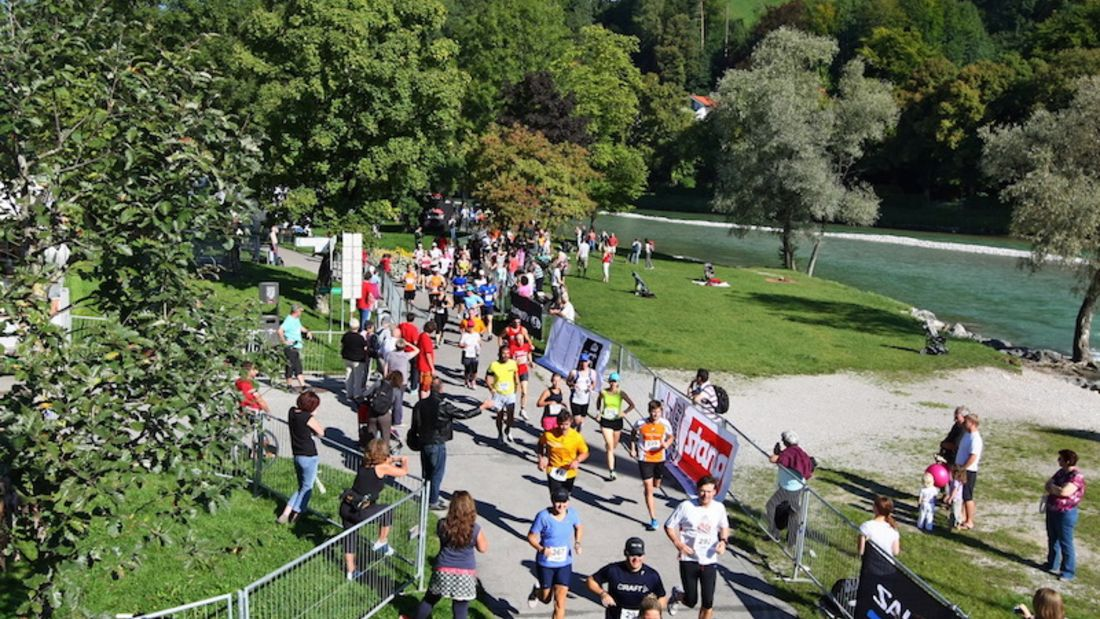 Isar-Lauf Bad Tölz - Lenggries Start 21 km