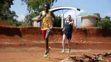 """Iten in Kenia liegt auf rund 2400 Meter Höhe und gilt als das """"Home of Champions"""". Zahlreiche Weltklasse-Läufer leben oder trainieren hier."""