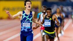 Jakob Ingebrigtsen läuft in 12:48,45 Minuten einen neuen Europarekord.