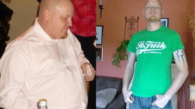 Herausforderung laufen, um Gewicht zu verlieren
