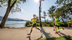Kärnten läuft: Die Laufstrecke führt direkt am Ufer des Wörthersees entlang.