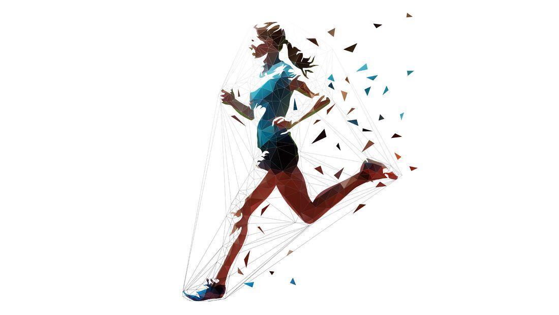 Kalorien verbrennen beim Laufen