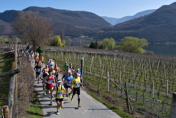 Kalterersee-Halbmarathon 2018