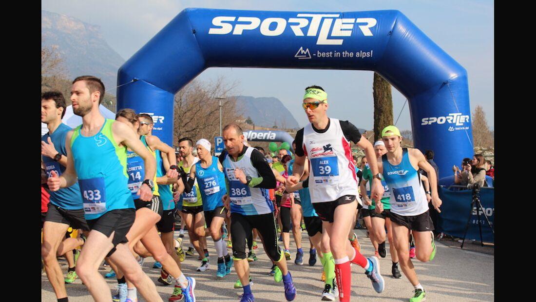 Kalterersee-Halbmarathon Start 2018
