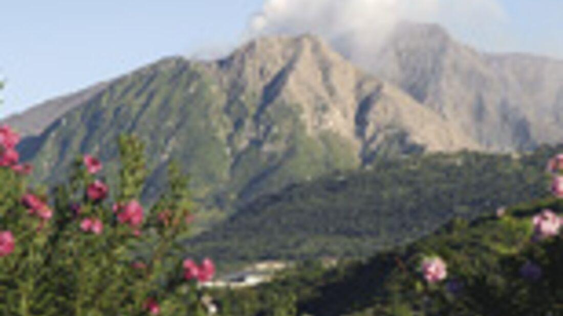 Karibischer Vulkan Halbmarathon in Montserrat