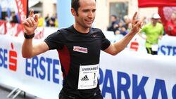 Karl Aumayr, zweifacher Sieger des Salzburger Jedermannlauf-Halbmarathon