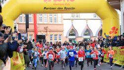 Kinderlauf beim Trierer Silvesterlauf