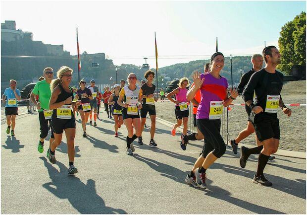 Koblenz Marathon Deutsches Eck 2018