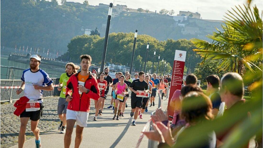 Koblenz-Marathon Moselufer 2018