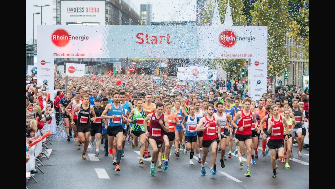 Köln-Marathon 2018 Start