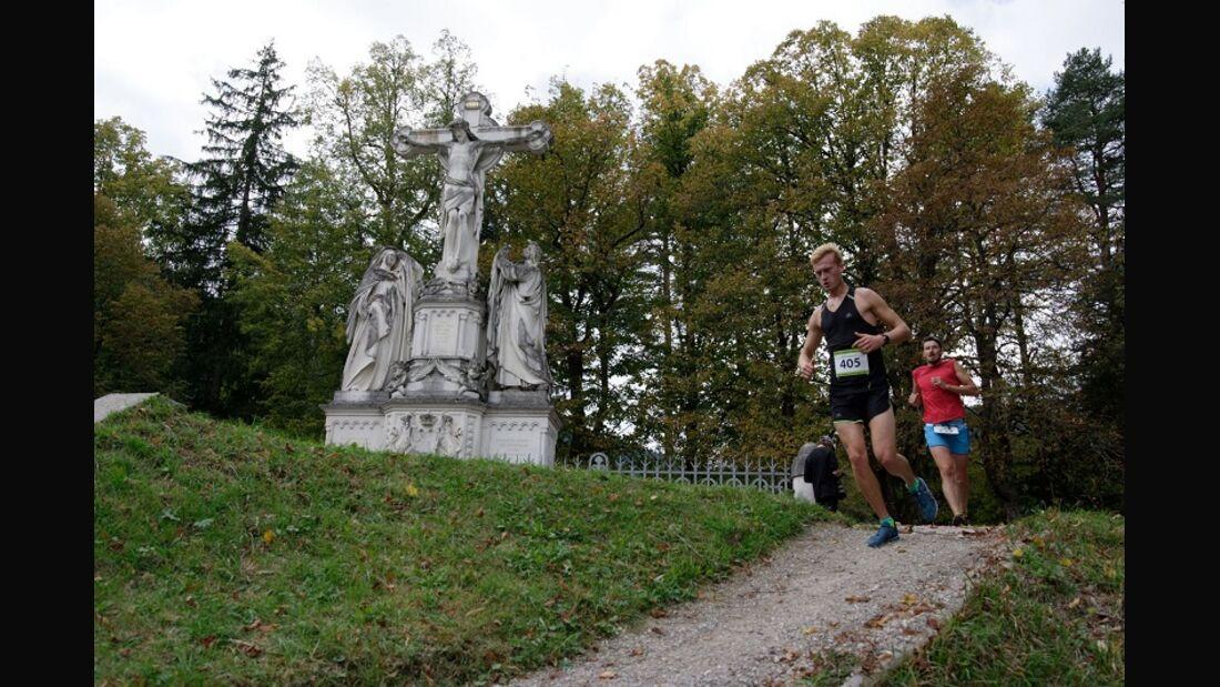 König Ludwig Trail Kreuzigungsgruppe Oberammergau