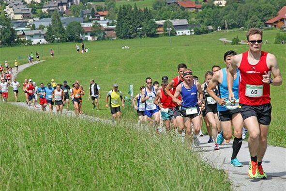 Kurze, knackige Anstiege beim Hofer Dorflauf