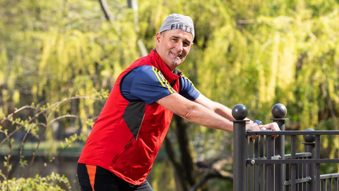 Läufer Christian Brott sieht im Laufen eine Art Therapie nach seinem Zugunfall