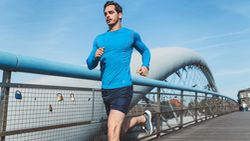 Läufer mit hoher Leistungsfähigkeit