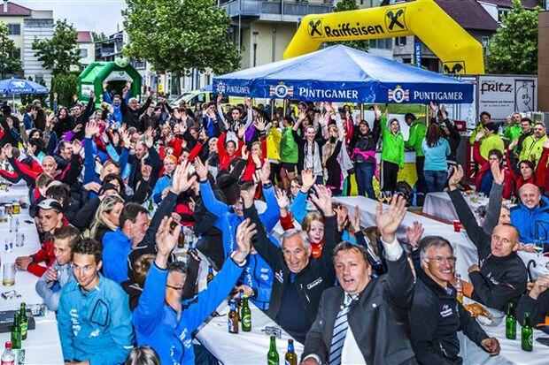 Lannacher Grätzllauf: Steirische Gemütlichkeit bei der Siegerehrung